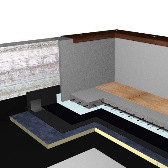 Stiferite Srl - Isolamento termico di coperture pedonabili con piastrelle o simili