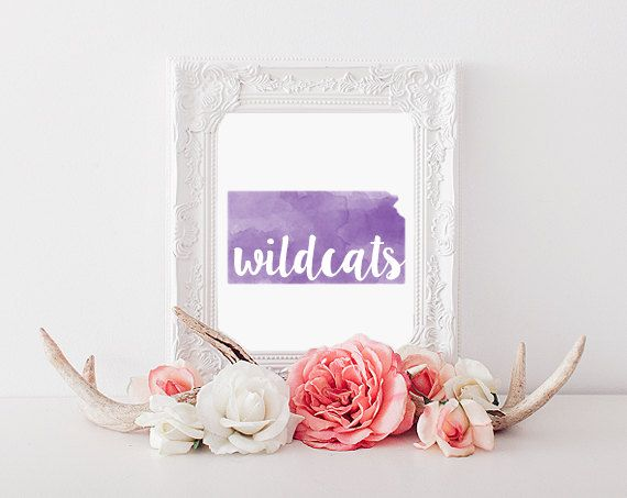 Kansas State University Wildcats Printable by CollegeAintCheap