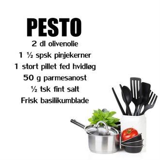 Wallstickers - Opskrift p� Pesto