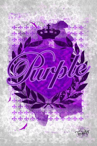 Purple by Teakster.deviantart.com on @DeviantArt