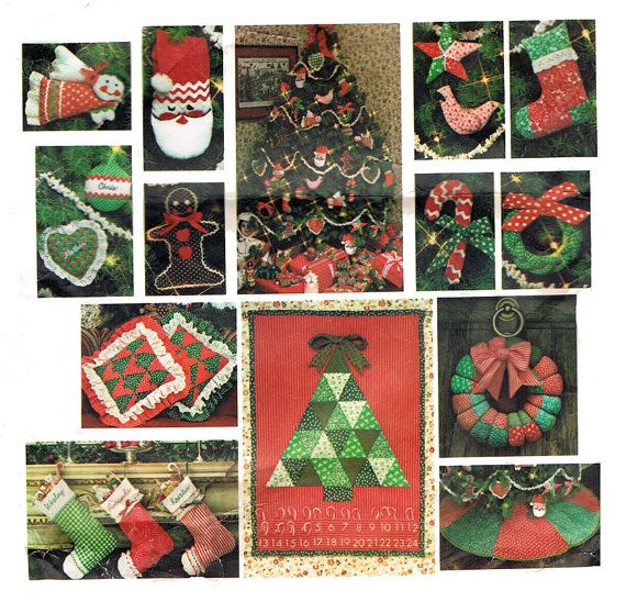 christmas paper crafts 1970s craft pattern vogue 1312 santa pack i 1312