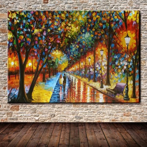 Spatula Street Park Oil Painting  100% Hand Made Modern Spatula Street Park Oil Painting On Canvas Art Paintings For The Wall Decoration Room Paintings Without Frame 60x90 cm  Price $70 - $185  ☑FREE SHIPPING ☑Limited Edition! 40% Discount.  ❗If you need help, please contact us online to help you❗  Whatsapp ☎ 829-515-8181  #art #illustration #drawing #draw #picture #artist #sketch #sketchbook #paper #pen #pencil #artsy #instaart #beautiful #instagood #gallery #masterpiece #creative…