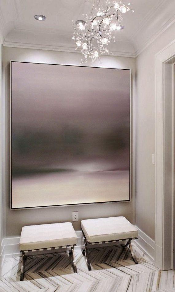 Pintura abstracta pintura al óleo moderna gran pared abstracto