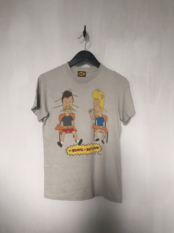 Beavis and Butthead shirt vintage t shirt 90s by CottonFever