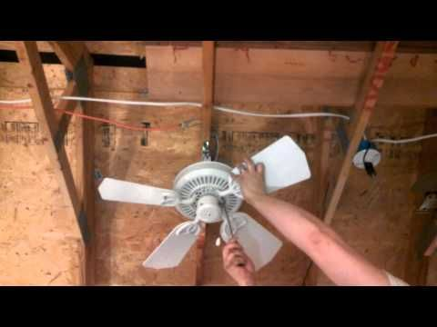 How To Get A Ceiling Fan To Stop Clicking