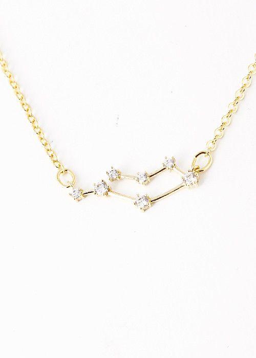 Gemini Constellation Zodiac Necklace (05/22-06/21) - My Jewel Candy