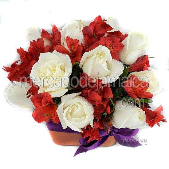 Arreglo Floral con Rosas Rojas 766 !| Envia Flores