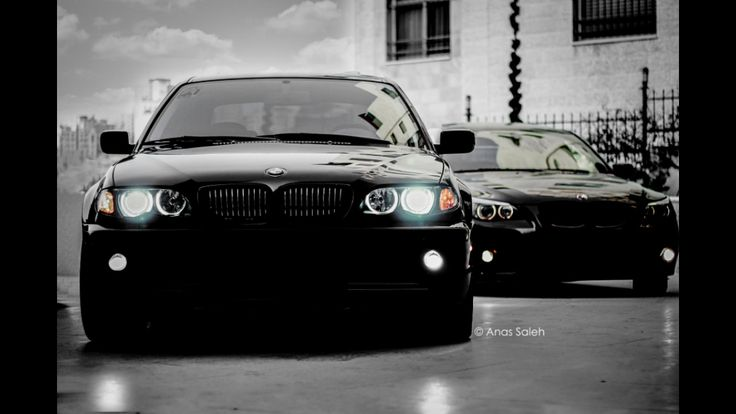 BMW 3 series with the big brother 6 series