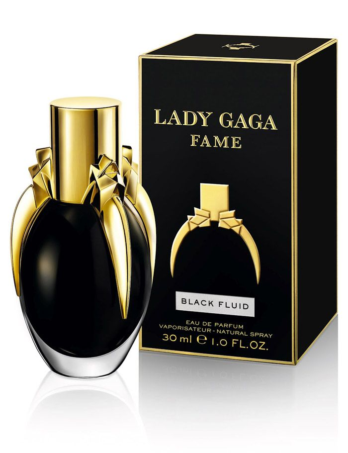 Well, this is better than the orginal purple. Hope the perfume isn't black. I have mixed emotions whether I like this packaging or not. Doesn't seem to reflect the GAGA image PD.