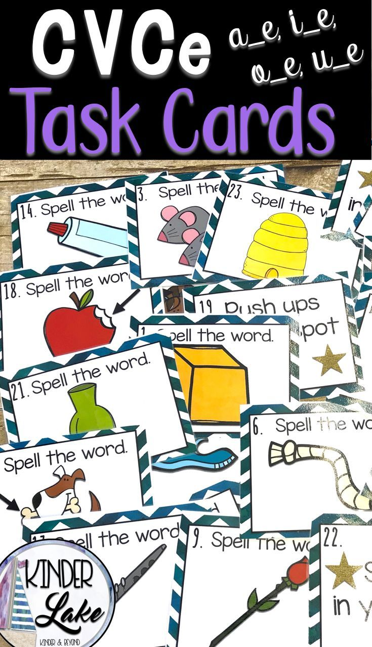 CVCe Magic e Game | 1st Grade | Word work games, Phonics rules
