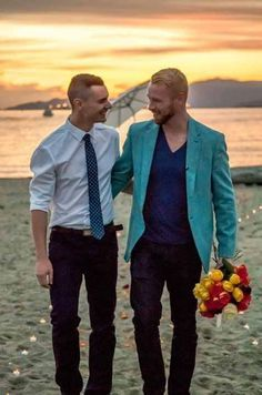 Love is love and the pictures posted here are specifically depicting gay love…