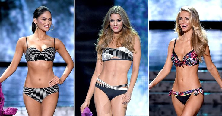 See the final 10 contestants in the bikini portion of the 64th annual Miss Universe pageant, held on December 20, 2015, in Las Vegas, Nevada.