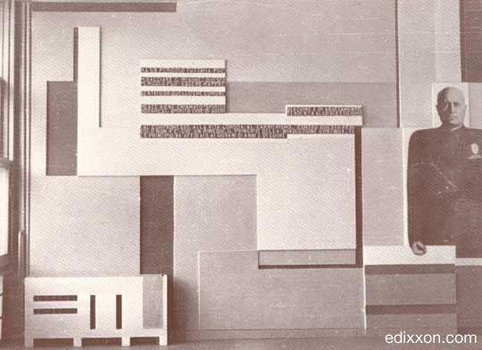 Mario Radice - Opere - 1933-1936. Casa del Fascio di Como. Sala ...