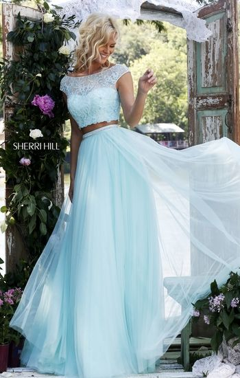 I really like the chiffon bottom piece!
