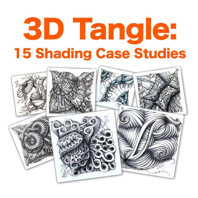 7 best 3dtangle overlapping zentangle images on pinterest doodles in this ebook youll get a chance to take a peek over my fandeluxe Image collections
