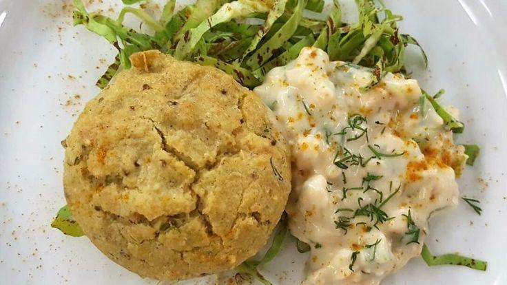 Muffins Vancouver al salmone – Ricette Dieta Gruppo Sanguigno