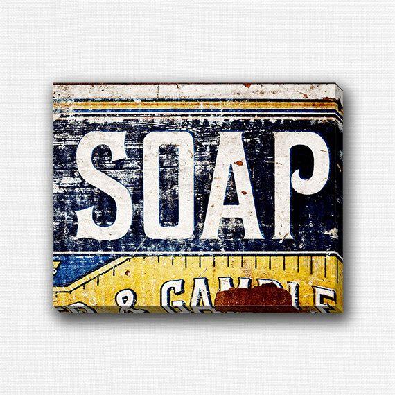 Bathroom+Canvas+Decor+Bathroom+Decor+Laundry+by+LisaRussoFineArt,+$50.00