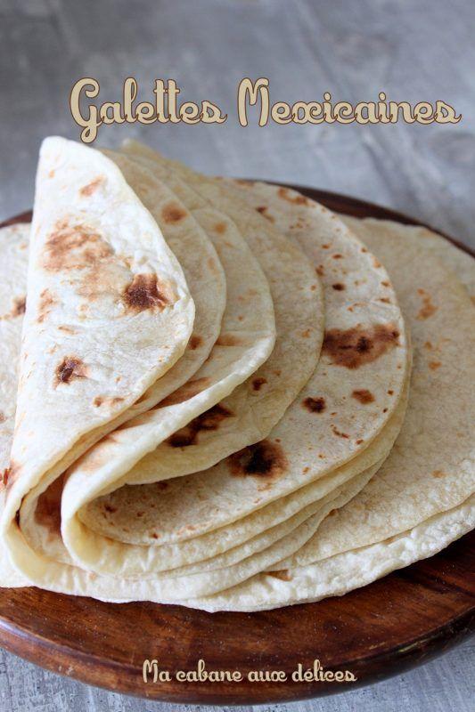 Recette tortilla mexicaine, des galettes de farine et maïs pour fajitas maison. Rapide et facile, ce pain se prépare à la poêle. on peut le congeler