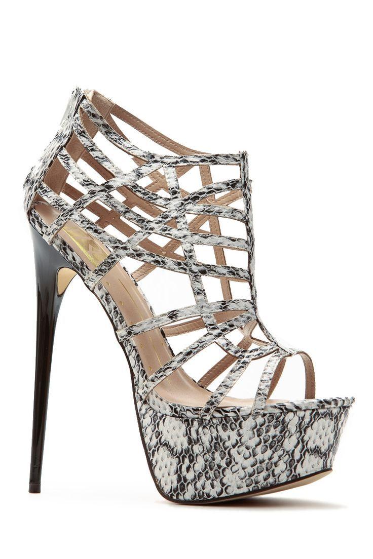 c3fc2c0bb Women s Fashion High Heels   Summer Vacation Faux Snake Platform Stilettos    Cicihot Heel Shoes online store sales Stiletto Heel Shoes