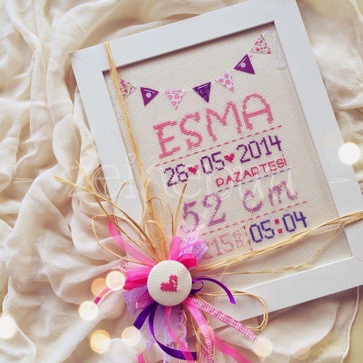 Zeinepuu: ElifSu ve Esma*nın doğum panosu ♥