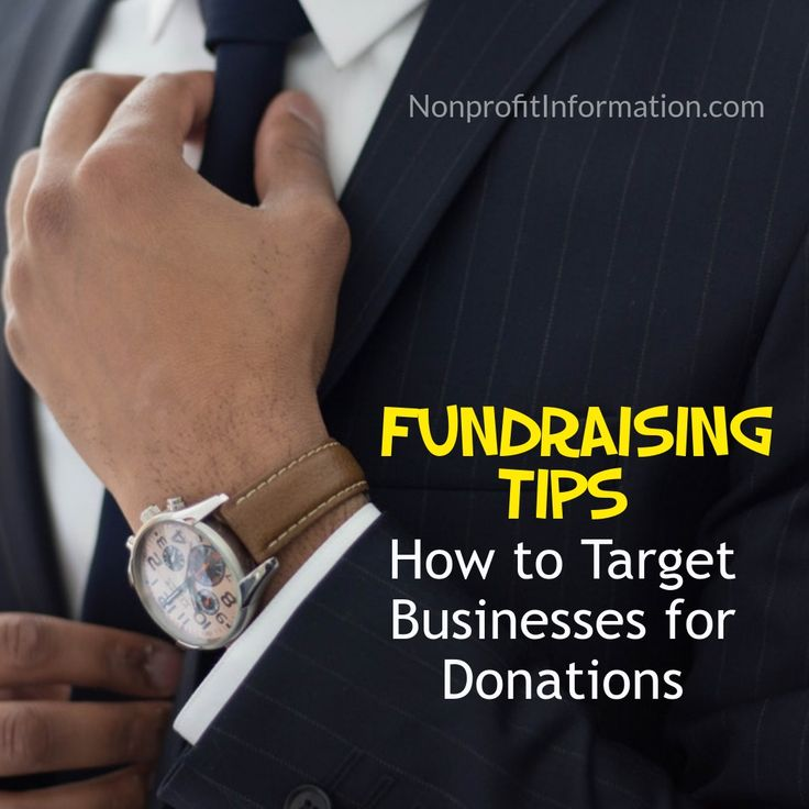 Fundraising Tips - Charity Fundraising, Nonprofit Organization Fundraising - Fundraising NGO - 501c3 Fundraising - Raising Money for Nonprofits Business Donations