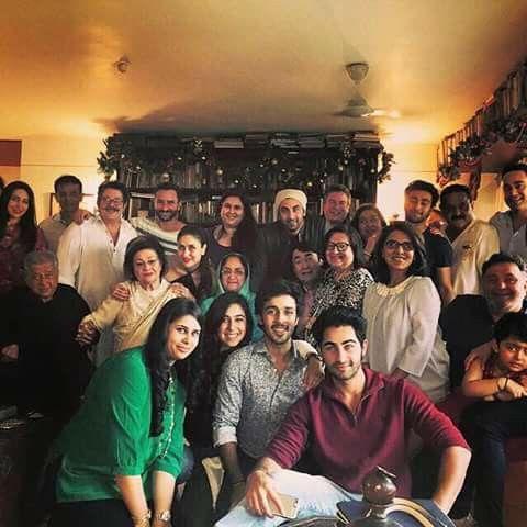 Whole kapoor family