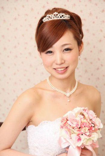 ヘアメイクアーティストYUKAのブログ-カールアップティアラ