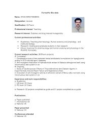 biodata format for marriage in english