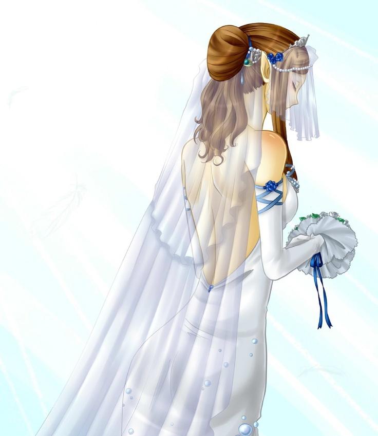 Princess Zelda Wedding Dress.