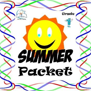 1st Grade Summer Packet. This is a summer packet for students entering grade 2. Practice during the summer is an important way to reinforce ideas and concepts learned during the past school year.  This 1st Grade Summer Packet includes: #1 - student cover sheet  #2 - 3, math problems  #3 - reading words  #4 - antonyms  #5 - synonyms  #6 - rhyming words  #7 - vocabulary  #8 - completing sentences  #9 - sequencing   #1, - reading passages and comprehension questions  ***Please see the…