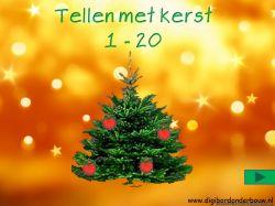 tellen met kerst 1 - 20 http://digibordonderbouw.nl/index.php/themas/kerst/kerst/viewcategory/362