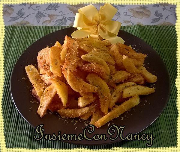 Patatine fritte piccanti al formaggio