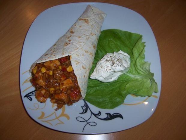 """Rezept: Mexikanische Wraps """"Chichen Itza"""""""