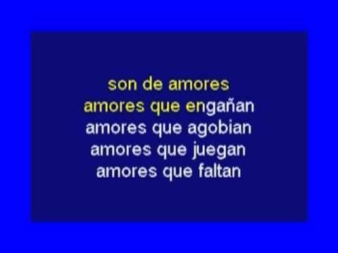Karaoke - Son De Amores - Andy & Lucas