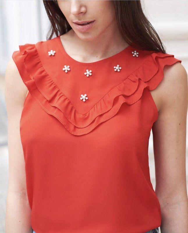 Mejores 239 imágenes de blusas faciles de hacer en Pinterest | Ropa ...