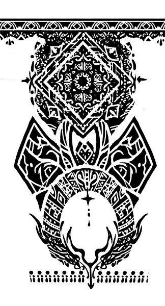 uta | Tokyo ghoul | right arm tattoo