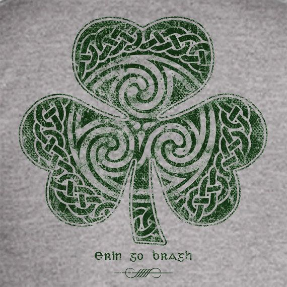 St. Patrick's Day shirt - Erin Go Braugh #storenvy #shirt #clover #irish #eringobragh