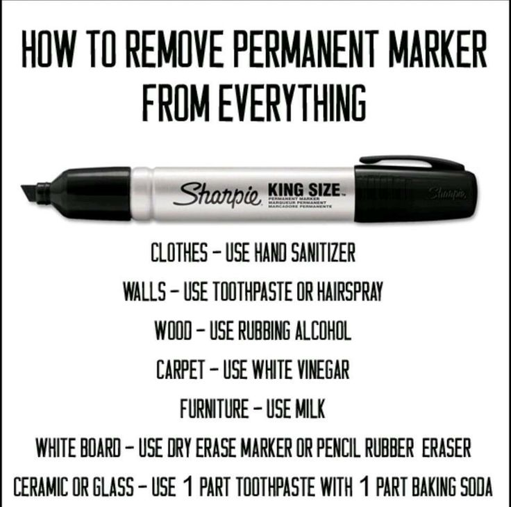 1000 ideas about sharpie removal on pinterest remove permanent marker how to clean carpet. Black Bedroom Furniture Sets. Home Design Ideas