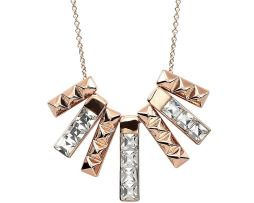 Luxusný náhrdelník so siedmimi ozdobnými príveskami