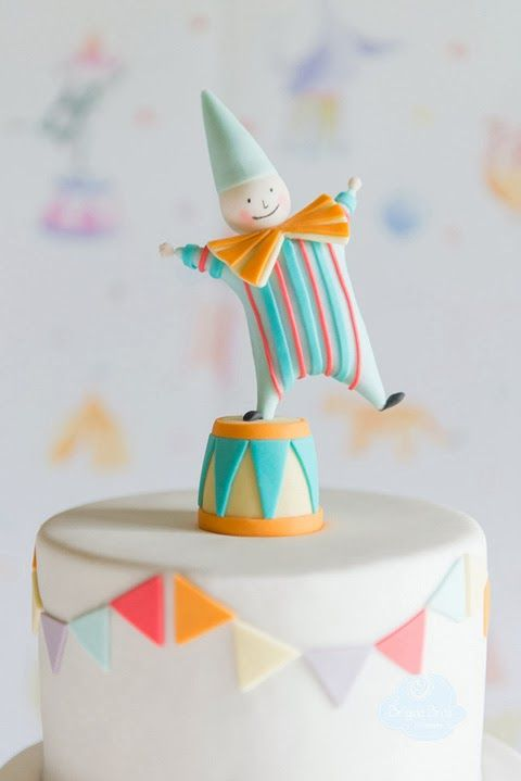 So CUTE! Peaceofcake ♥ Sweet Design: Clown Party • Festa Palhaço