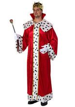 König-Umhang Märchen-Cape Kostüm-Zubehör rot aus unserer Kategorie Märchenkostüme. Wohin dieser König auch schreitet, er erntet stets die vollste Bewunderung. Einfach ein fantastisches Faschingskostüm für Herren, die gerne mal das Zepter schwingen möchten!