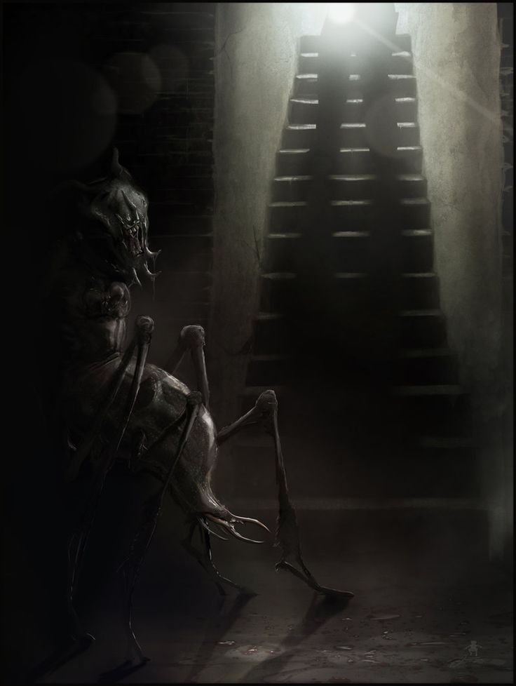 dark creepy basement. This is a little illustration which will accompany the short horror story  The Thing in Cellar by Jake Bauer to be published new quarterly ma 161 best All things creepy images on Pinterest Dark art