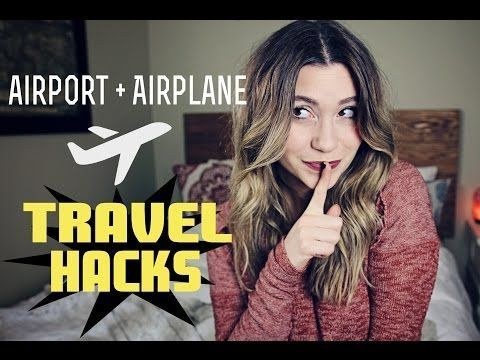 Airport & Airplane TRAVEL HACKS Travel Tips, #Airplane #airport #Hacks #Tips #Tr…