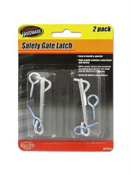 Safety Gate Latch Set (Available in a pack of 24)