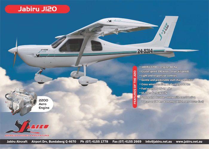 how to fly a jabiru