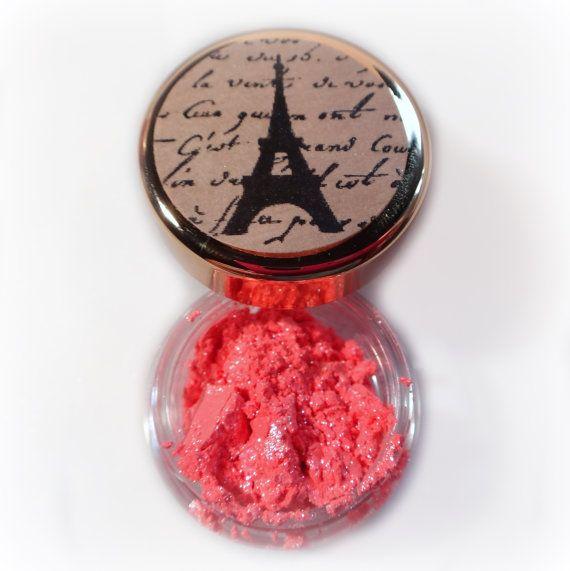 Vegan Mineral Makeup Eye Shadow Handmade -- Island Coral