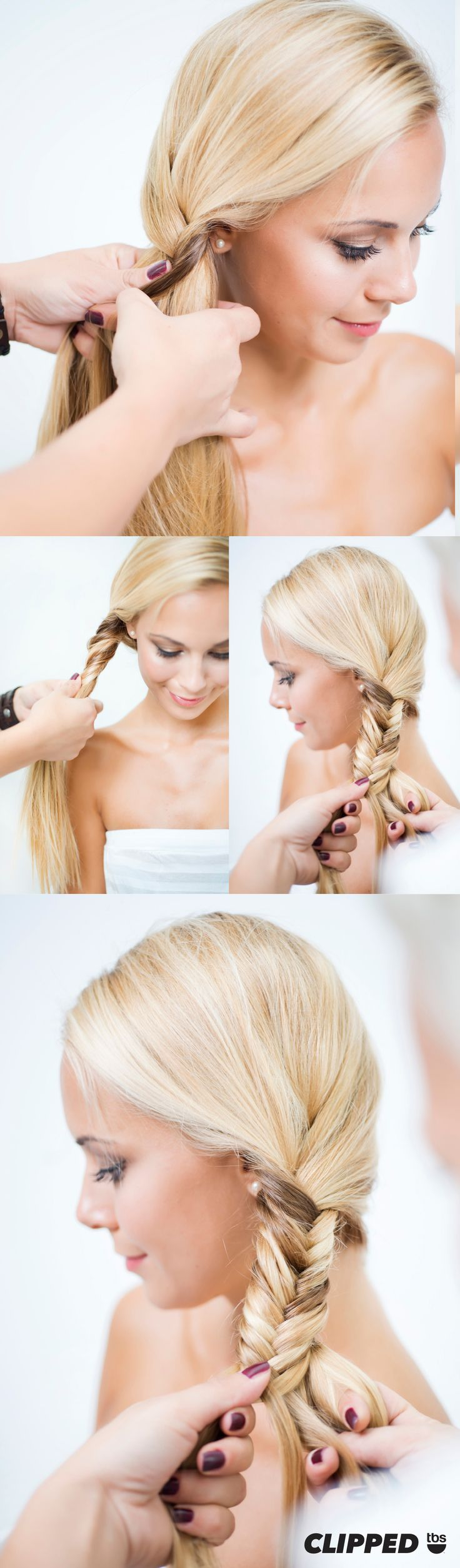 Tutorial: How to fishtail in four easy steps. A fishtail braid is one of summer's hottest trend and a favorite style of Clipped star Ashley Tisdale. Premieres Tuesday, June 16, 2015 at 10/9c.