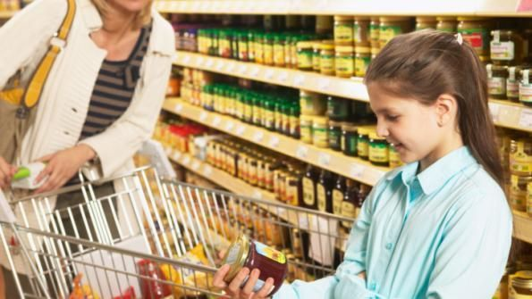 Reading labels is a great way to get your children involved and empowered about nutrition. Let her compare different food labels and have her choose which one she thinks is the healthier option. Plan a little extra time during your grocery shopping and try it there, too. With time and practice, she'll begin to incorporate the power of reading food labels before choosing food. #dietfreelife