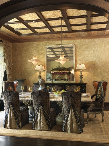 Dining Room - mediterranean - dining room - st louis - by Edwin Pepper Interiors
