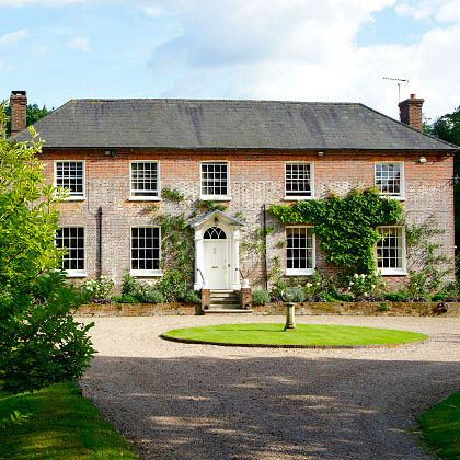Old Whyly, a Grade II-listed 17th-century manor house, East Sussex, England